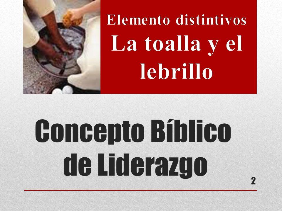 Concepto Bíblico de Liderazgo