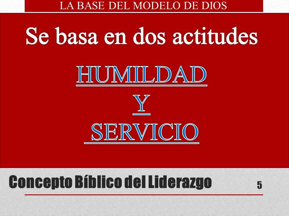 Concepto Bíblico del Liderazgo
