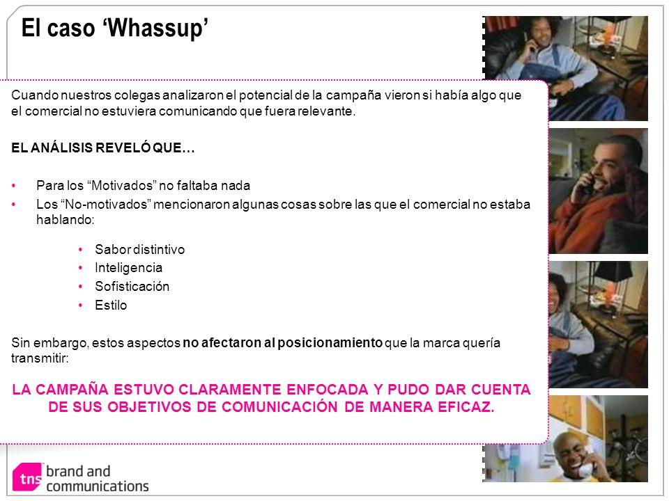 El caso 'Whassup'