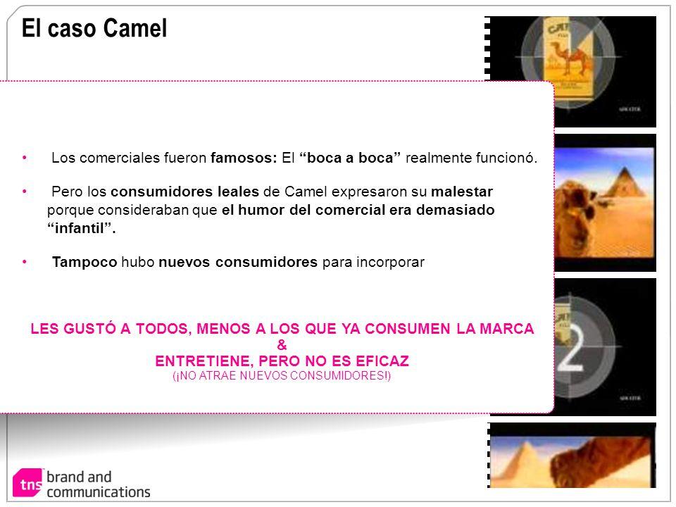 El caso Camel Los comerciales fueron famosos: El boca a boca realmente funcionó.
