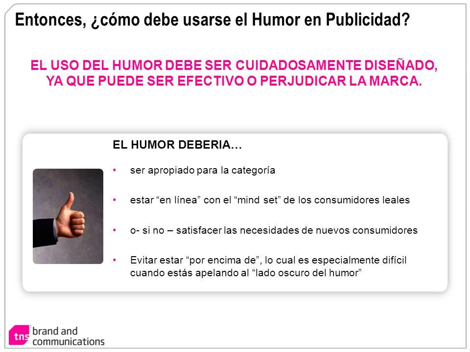 Entonces, ¿cómo debe usarse el Humor en Publicidad