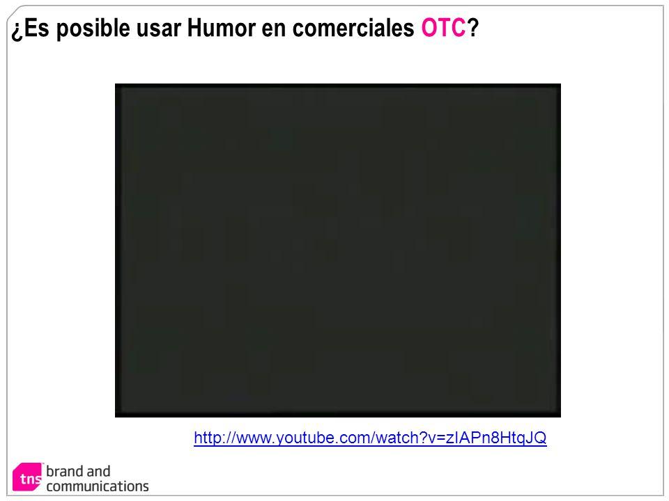 ¿Es posible usar Humor en comerciales OTC
