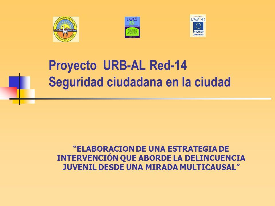 Proyecto URB-AL Red-14 Seguridad ciudadana en la ciudad