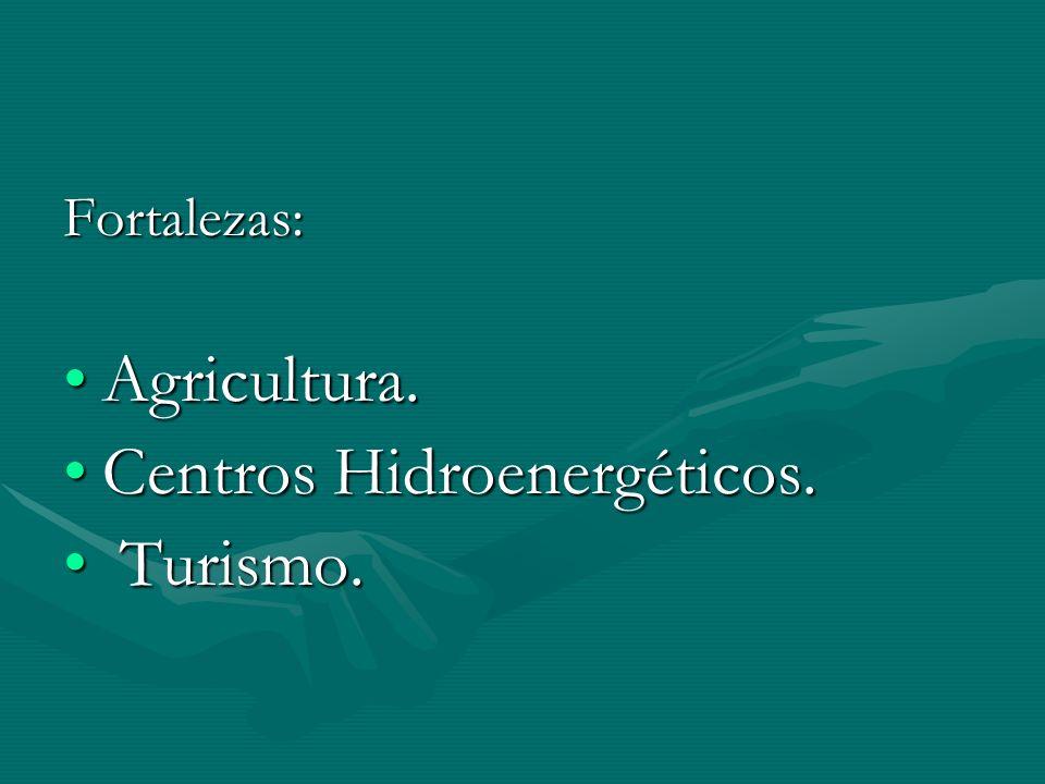 Centros Hidroenergéticos. Turismo.