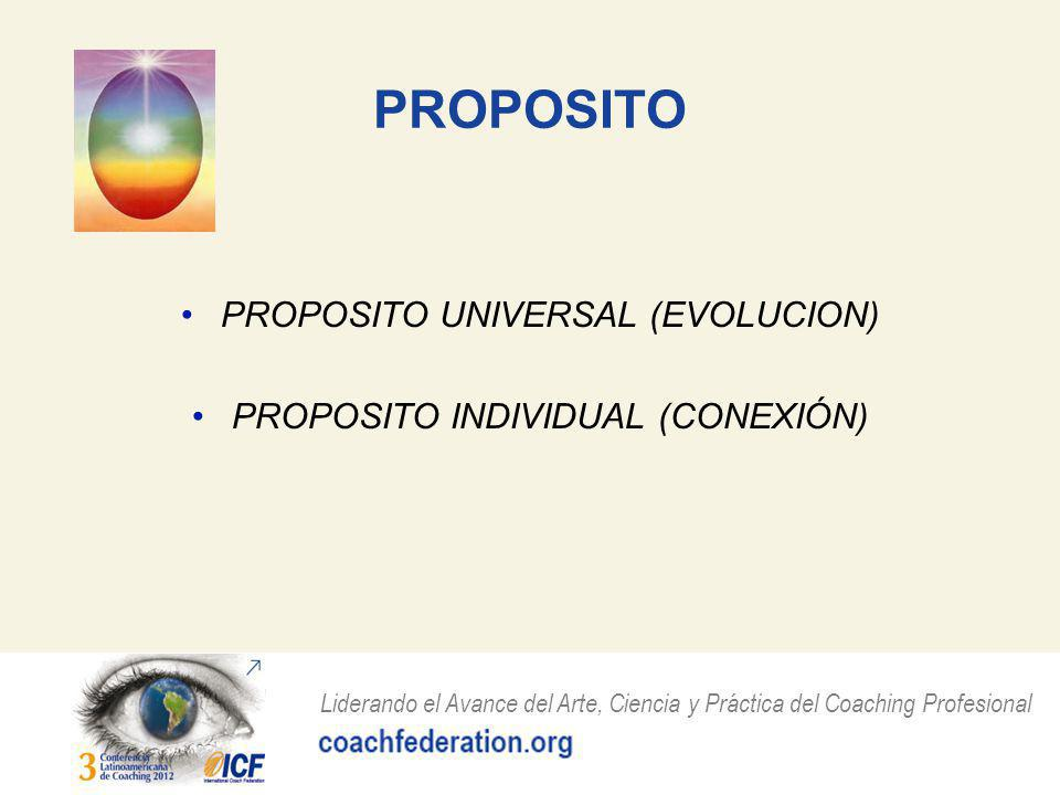 PROPOSITO PROPOSITO UNIVERSAL (EVOLUCION)