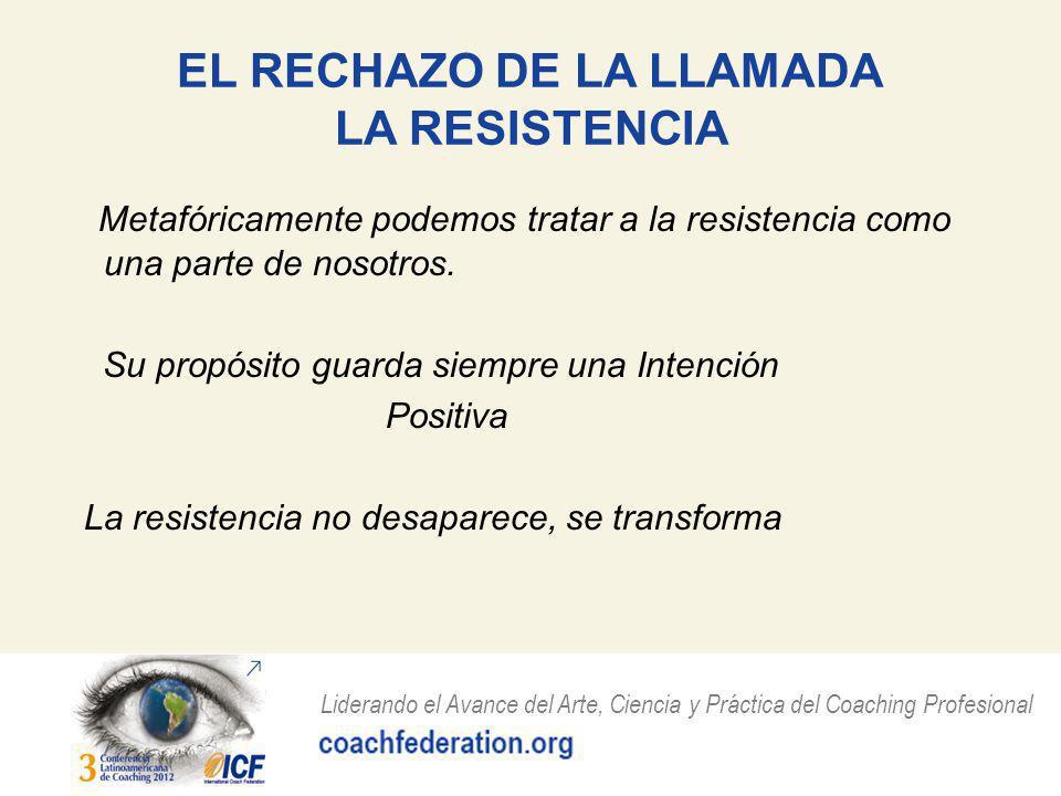 EL RECHAZO DE LA LLAMADA LA RESISTENCIA