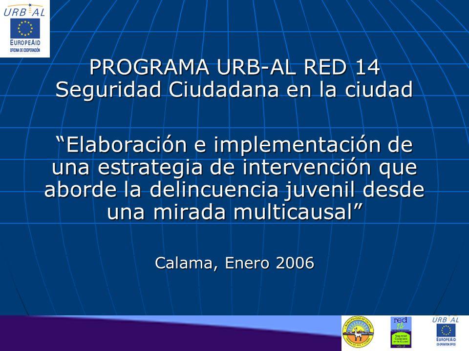 PROGRAMA URB-AL RED 14 Seguridad Ciudadana en la ciudad