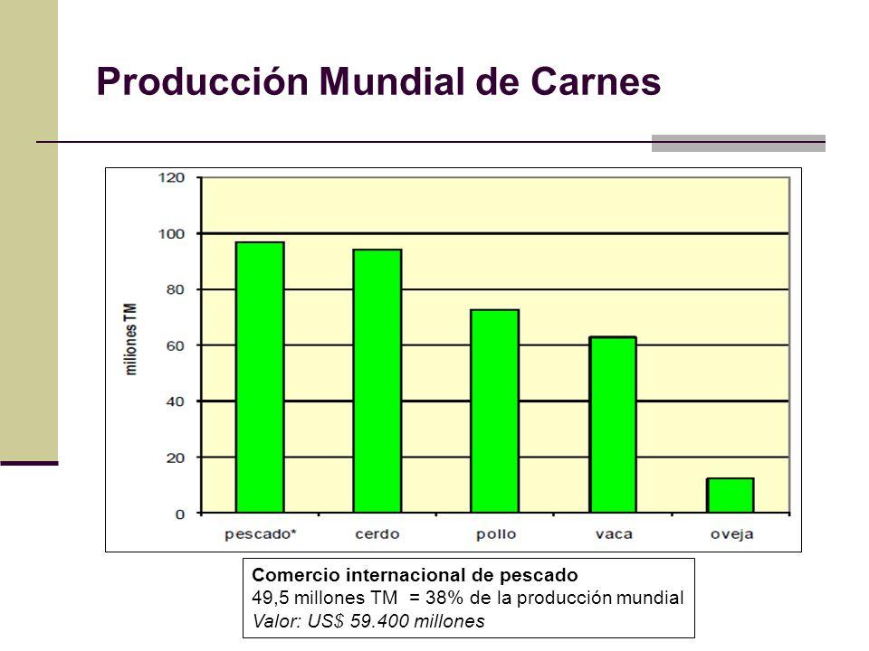 Producción Mundial de Carnes
