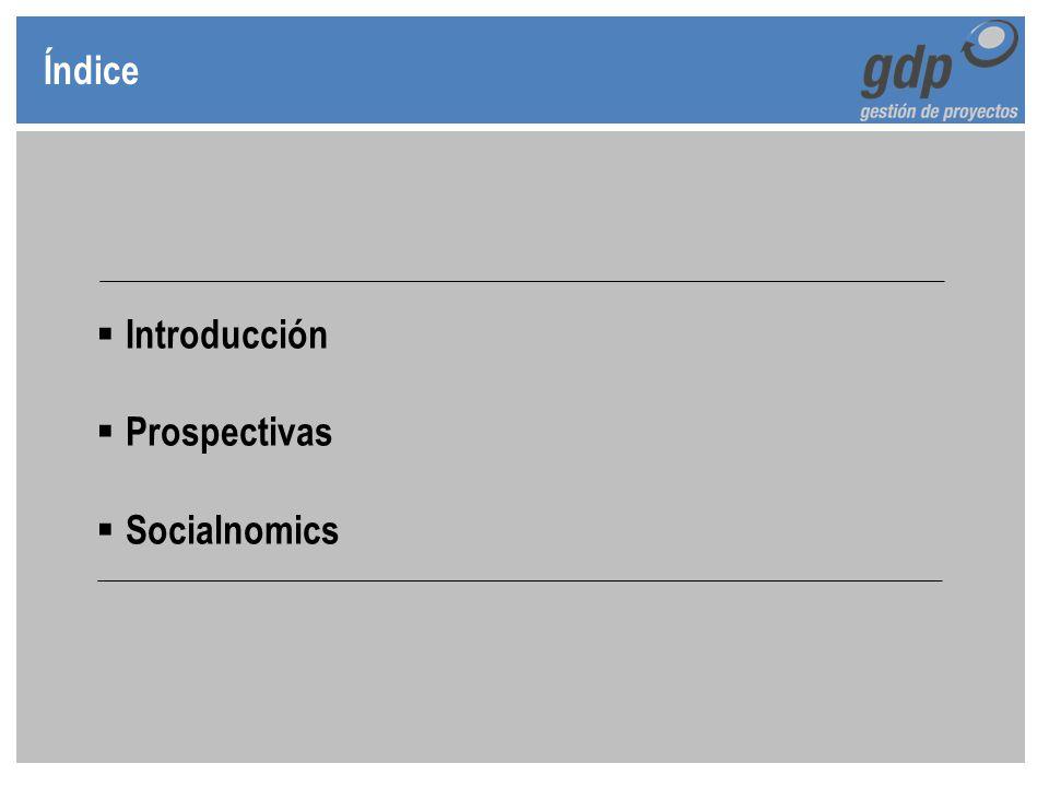 Índice Introducción Prospectivas Socialnomics