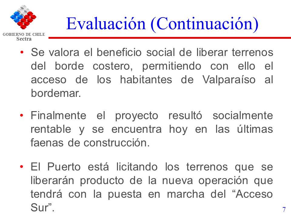 Evaluación (Continuación)