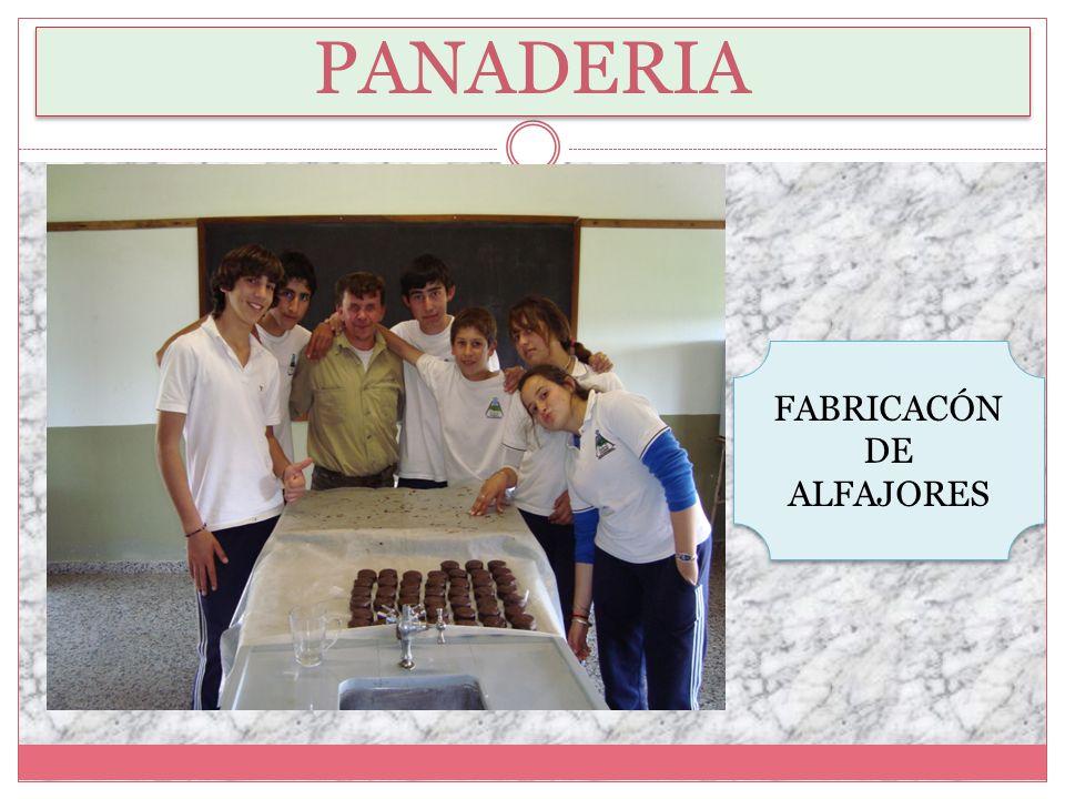 FABRICACÓN DE ALFAJORES