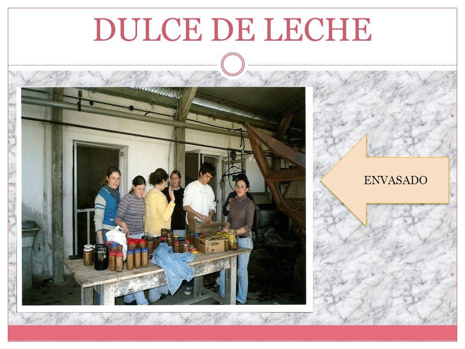 DULCE DE LECHE ENVASADO