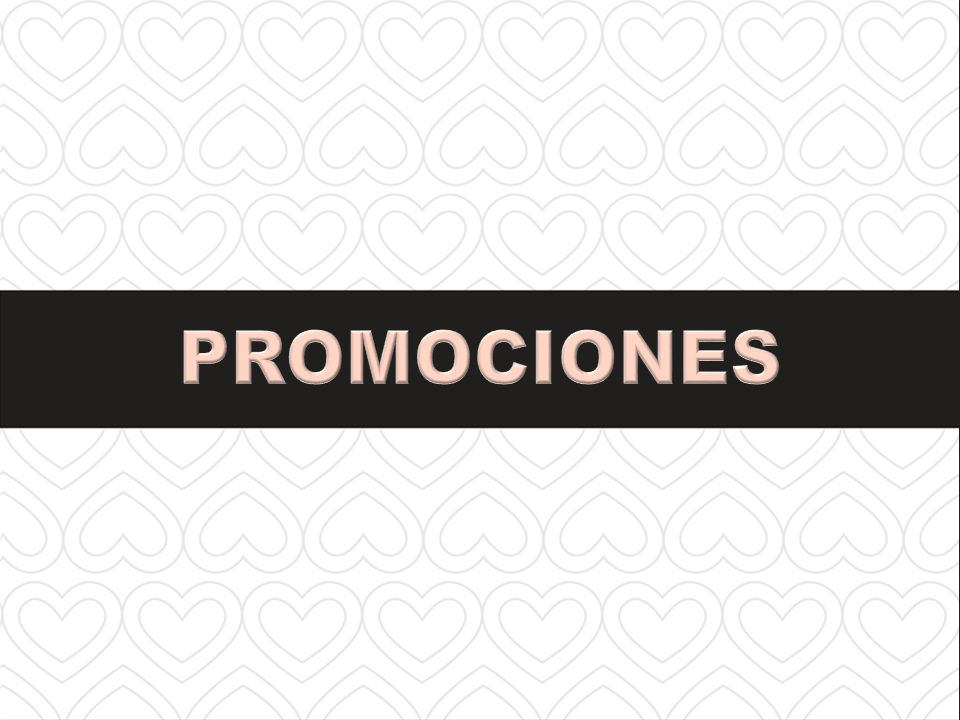 PROMOCIONES SECTION TITLE
