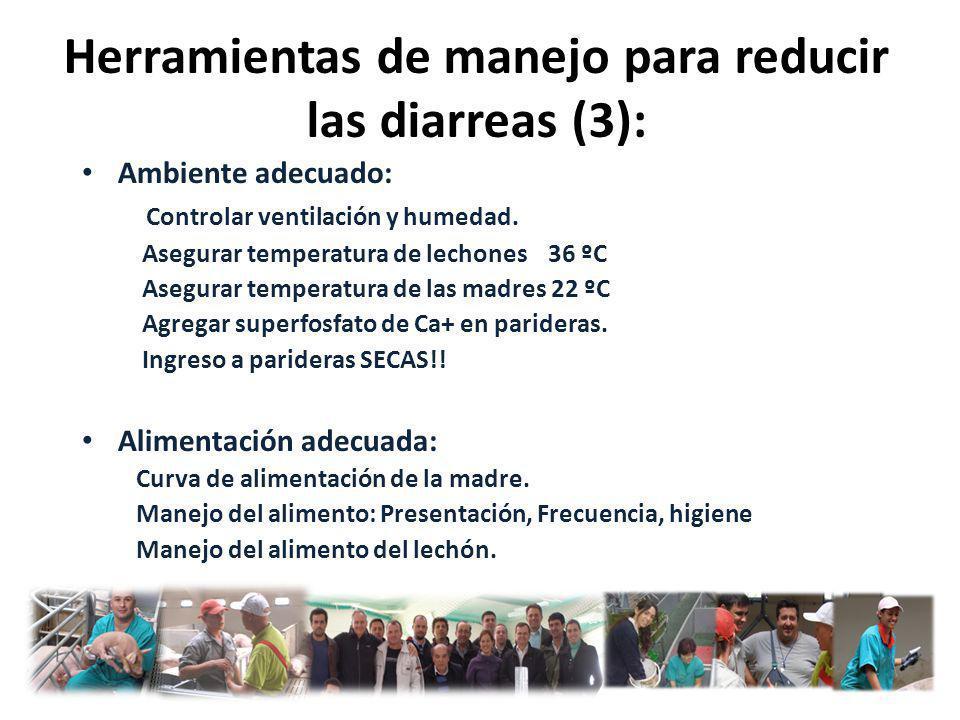 Herramientas de manejo para reducir las diarreas (3):