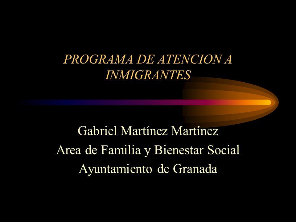 PROGRAMA DE ATENCION A INMIGRANTES
