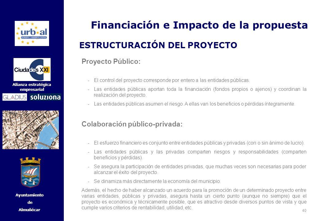 Financiación e Impacto de la propuesta