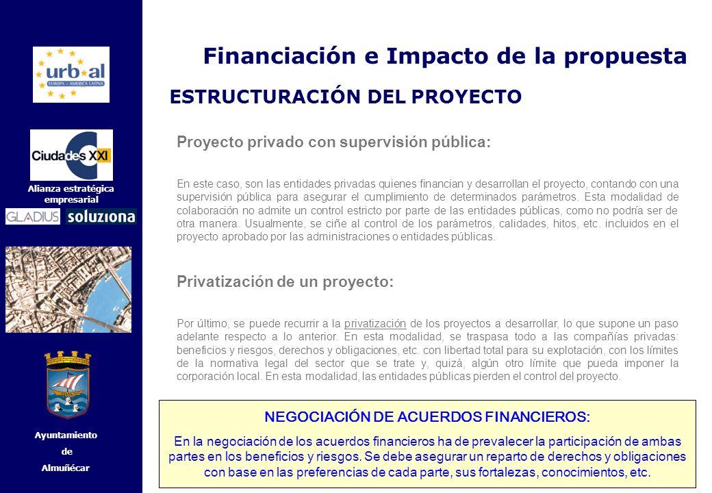 NEGOCIACIÓN DE ACUERDOS FINANCIEROS: