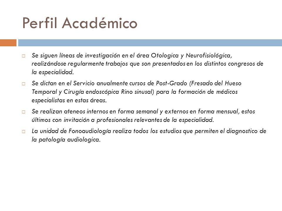 Perfil Académico