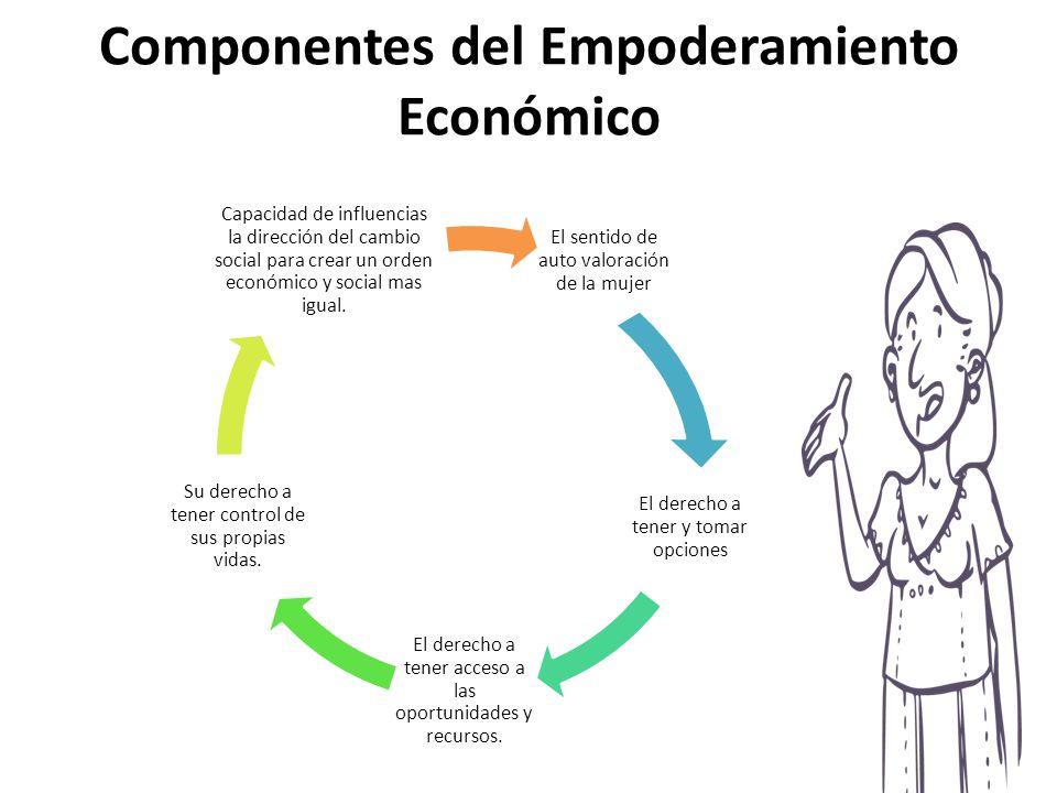 Componentes del Empoderamiento Económico