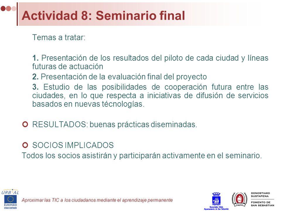 Actividad 8: Seminario final