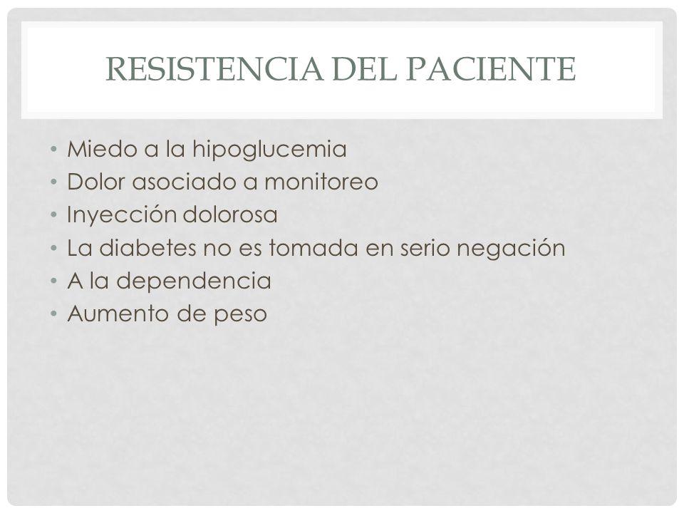 Resistencia del paciente
