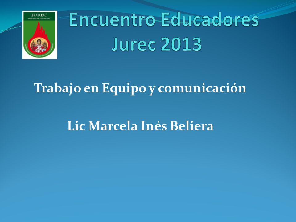Encuentro Educadores Jurec 2013