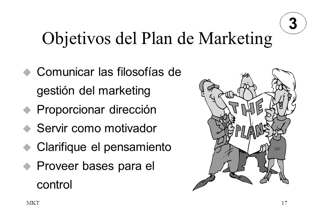 Objetivos del Plan de Marketing