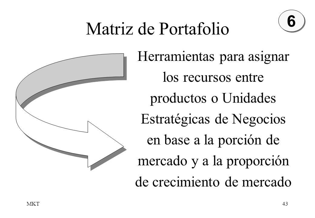 Matriz de Portafolio 6.