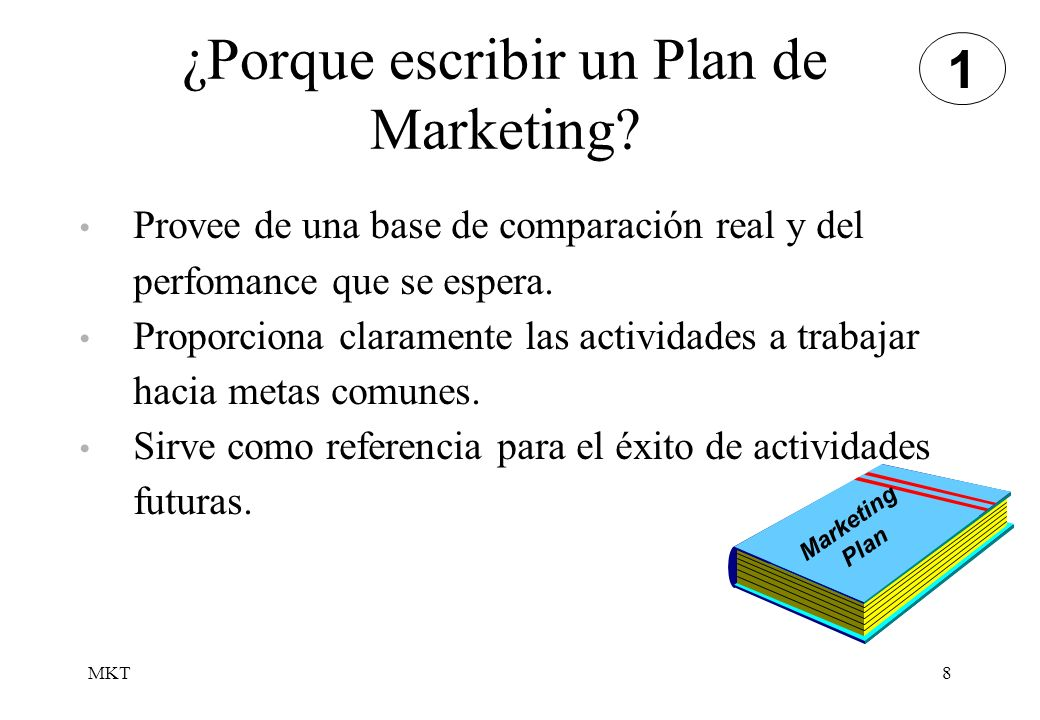 ¿Porque escribir un Plan de Marketing
