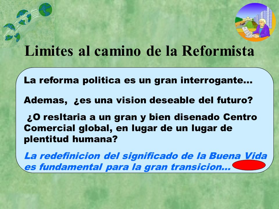 Limites al camino de la Reformista