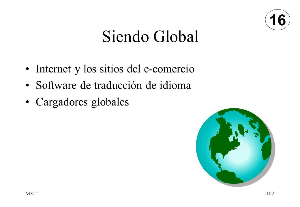 Siendo Global 16 Internet y los sitios del e-comercio