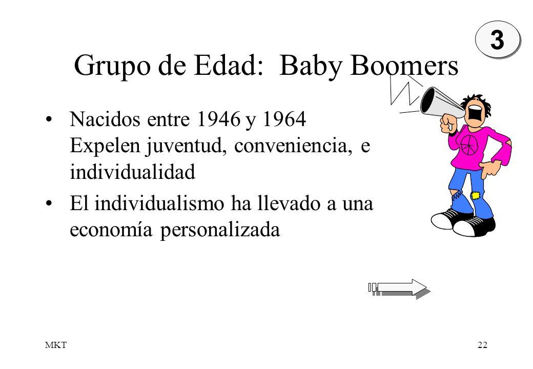 Grupo de Edad: Baby Boomers