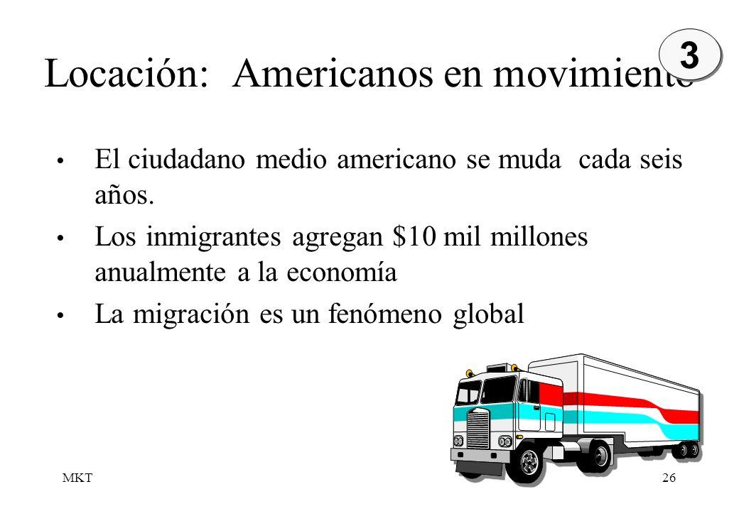 Locación: Americanos en movimiento