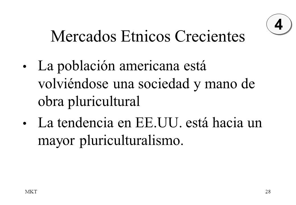 Mercados Etnicos Crecientes