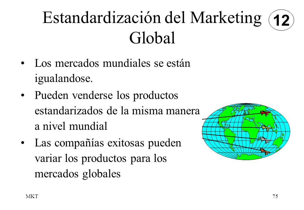 Estandardización del Marketing Global