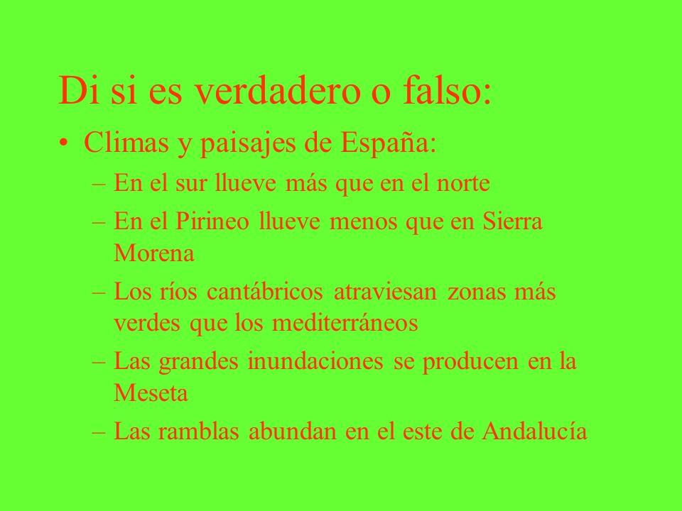 Di si es verdadero o falso: