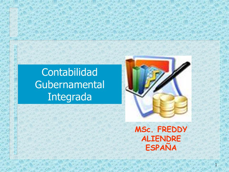 MSc. FREDDY ALIENDRE ESPAÑA