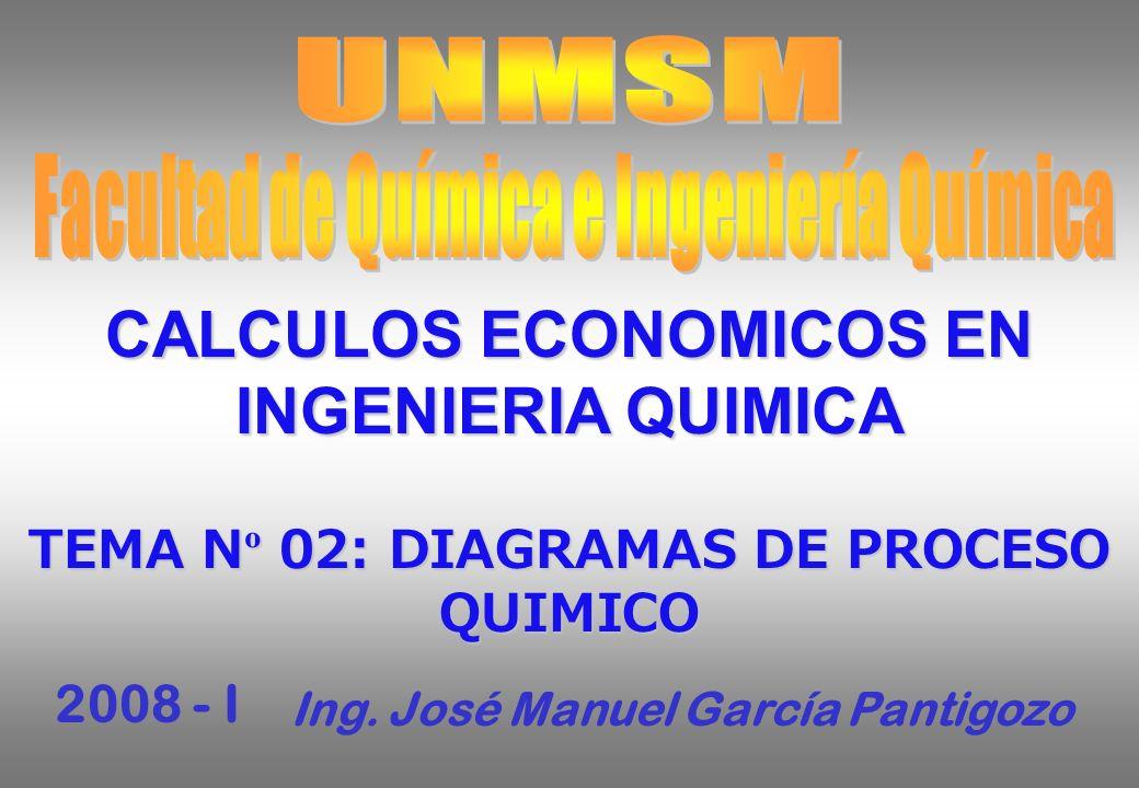 CALCULOS ECONOMICOS EN INGENIERIA QUIMICA