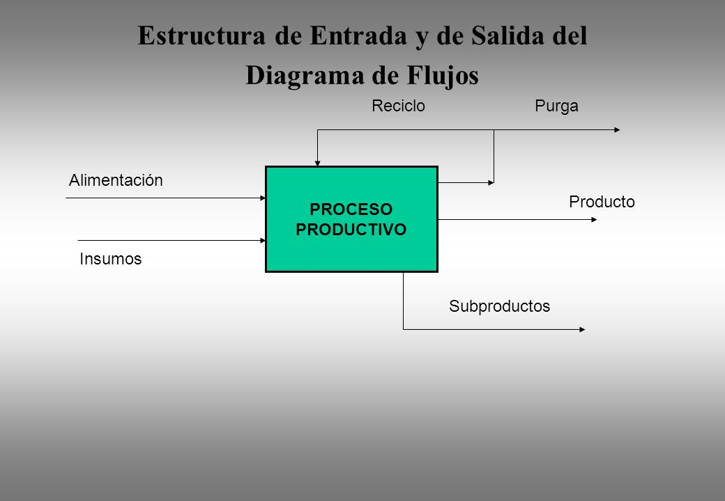 Estructura de Entrada y de Salida del