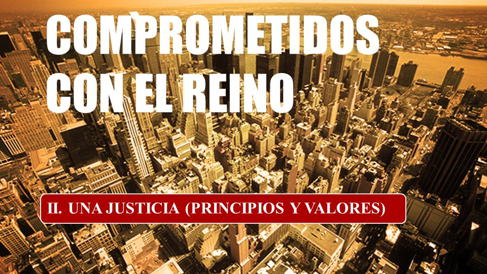 COMPROMETIDOS CON EL REINO