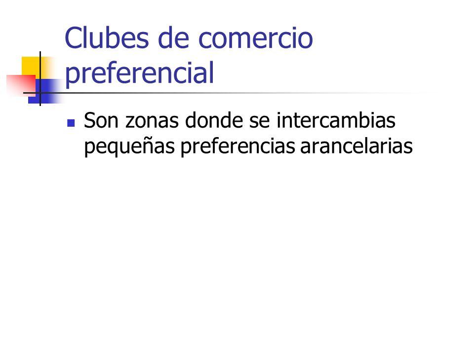 Clubes de comercio preferencial