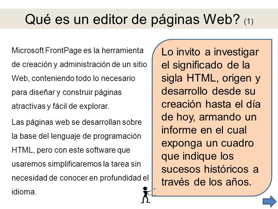 Qué es un editor de páginas Web (1)