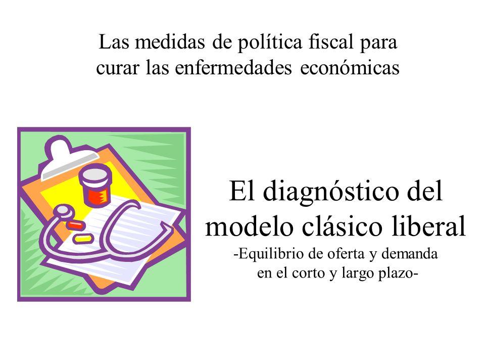 Las medidas de política fiscal para curar las enfermedades económicas