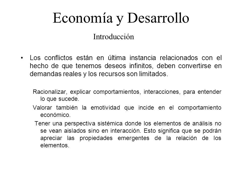 Economía y Desarrollo Introducción