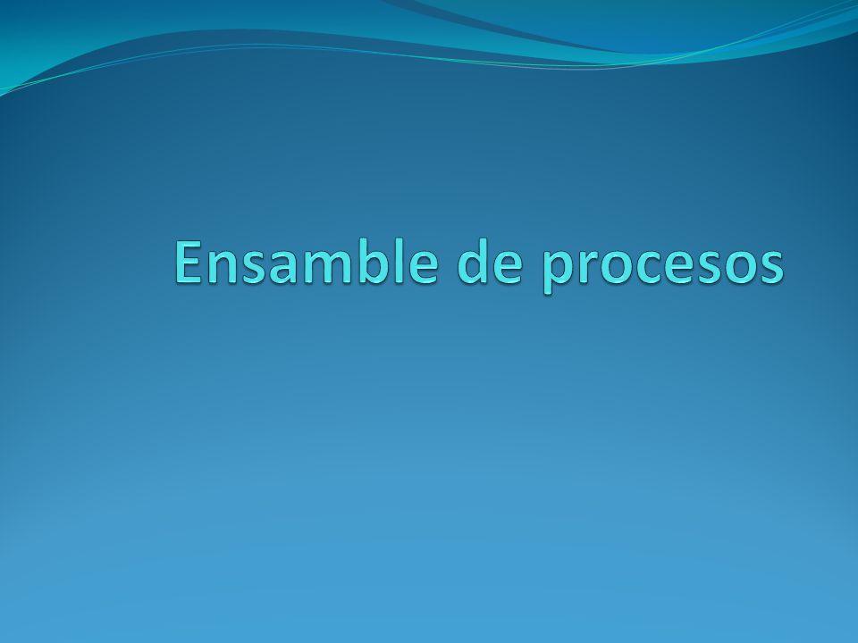 Ensamble de procesos