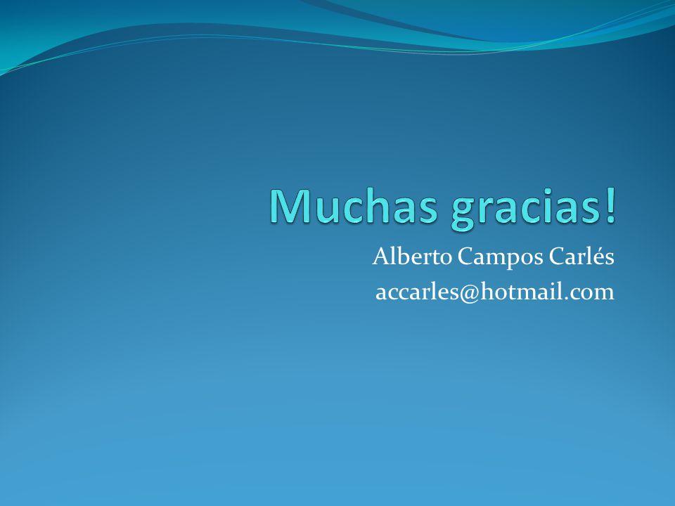 Alberto Campos Carlés accarles@hotmail.com
