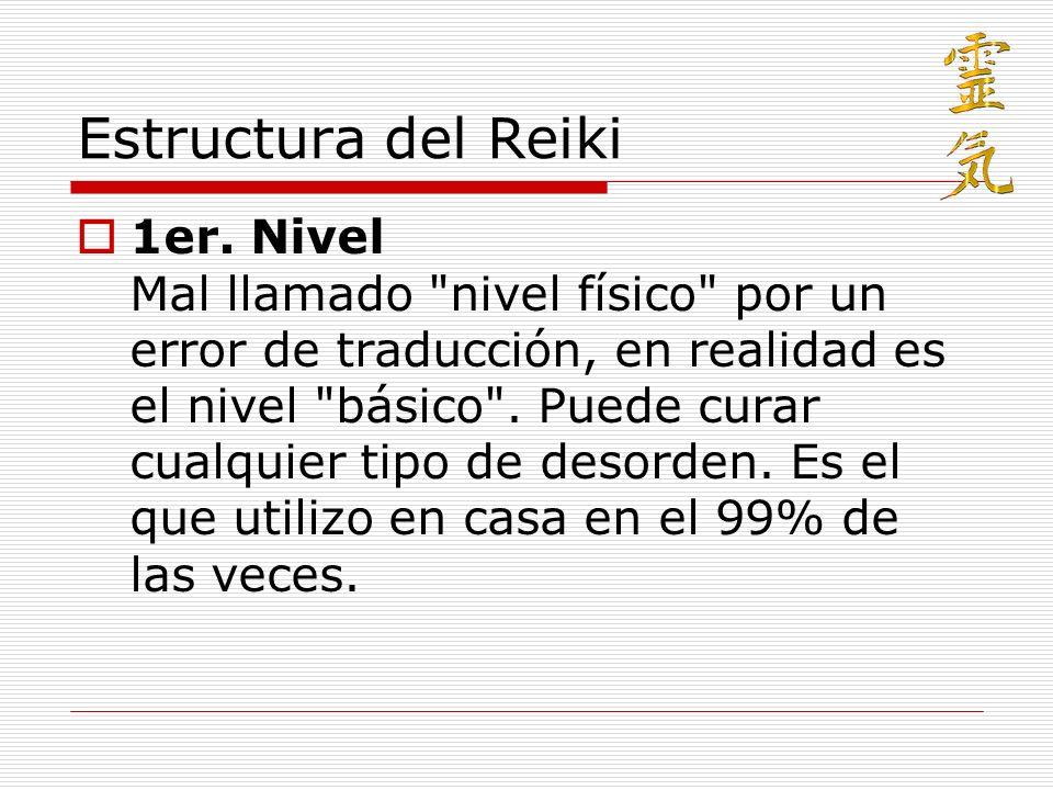 Estructura del Reiki