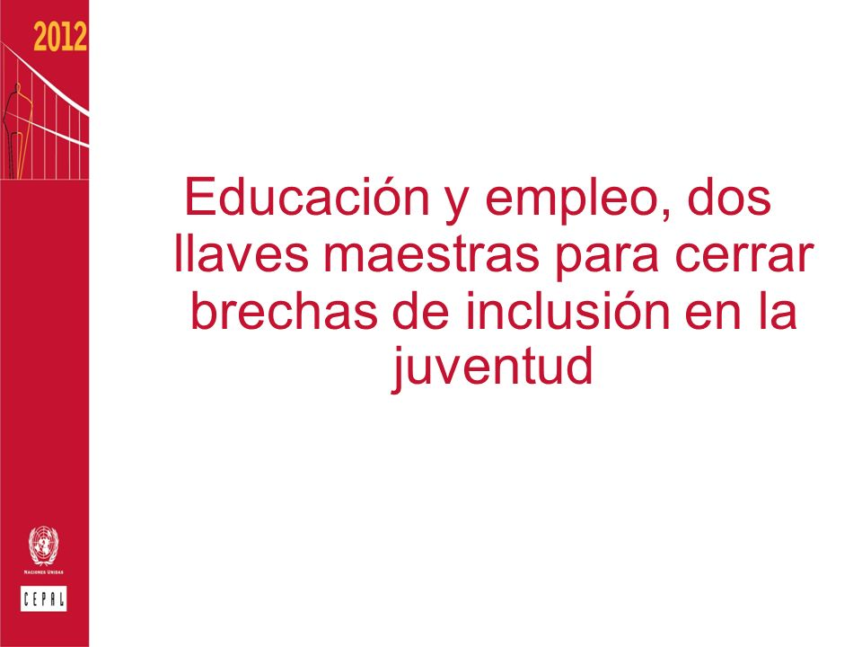 Educación y empleo, dos llaves maestras para cerrar brechas de inclusión en la juventud