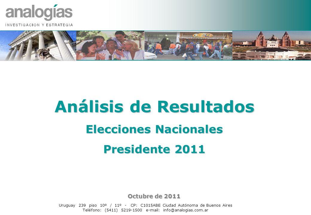 Análisis de Resultados Elecciones Nacionales