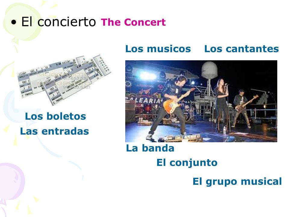 El concierto The Concert Los musicos Los cantantes Los boletos